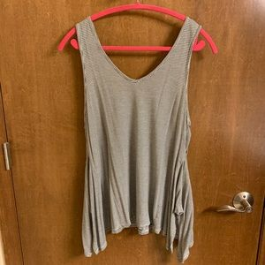 Tops - Urban outfitters black and white striped tank NWOT